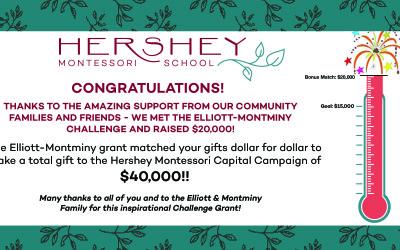 Hershey Montessori education is growing!