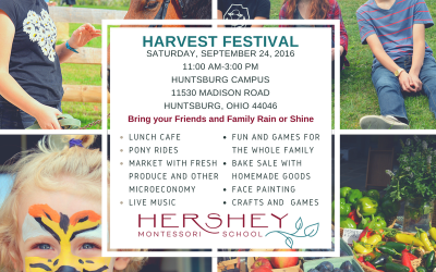 2016 Harvest Festival at Hershey Montessori School's Huntsburg Campus