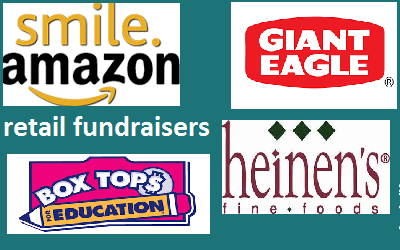 Giving while shopping!  Smile.Amazon, Boxtops, Giant Eagle and more!