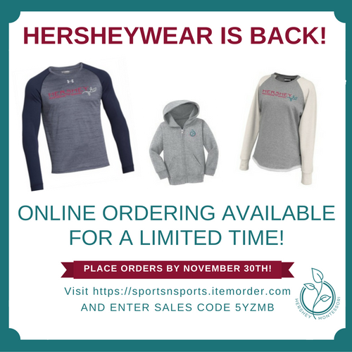 Order Your HersheyWear!