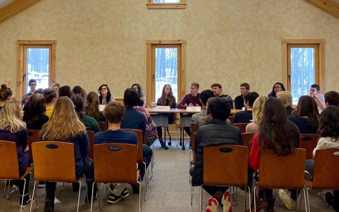 Hershey Alumni Return, Provide Support to Students