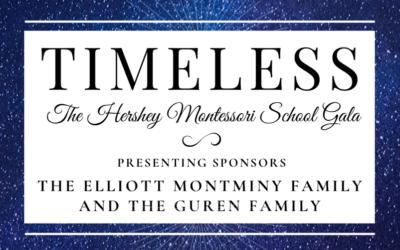 Hershey Montessori School Announces its 2020 Gala, TIMELESS