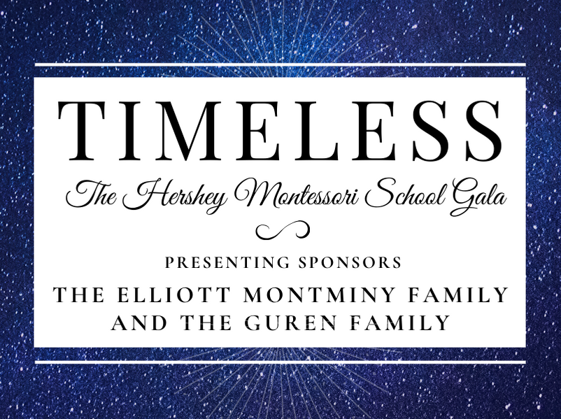 Hershey Montessori School Announces its 2020 Gala, TIMELESS