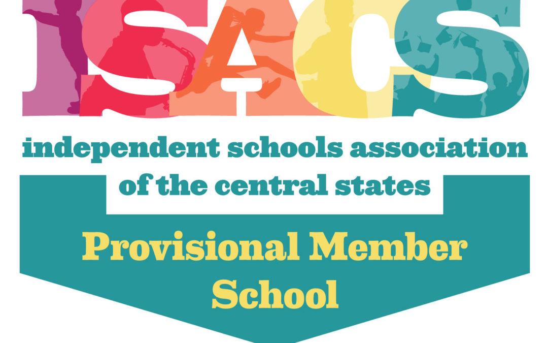 Hershey Montessori School Receives ISACS Provisional Member Status