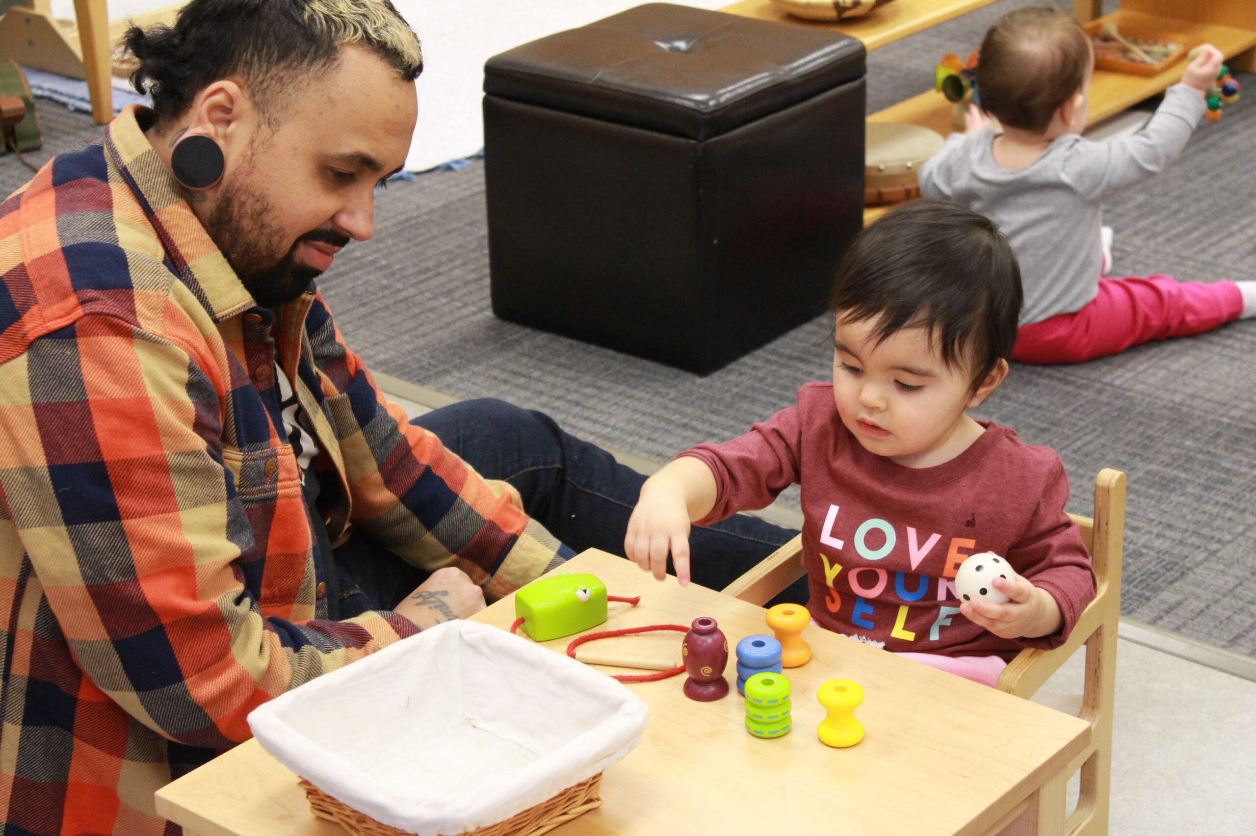 Hershey Montessori School Parent-Infant Program