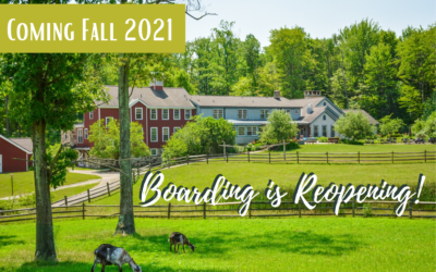 Adolescent Boarding Set to Reopen Fall 2021