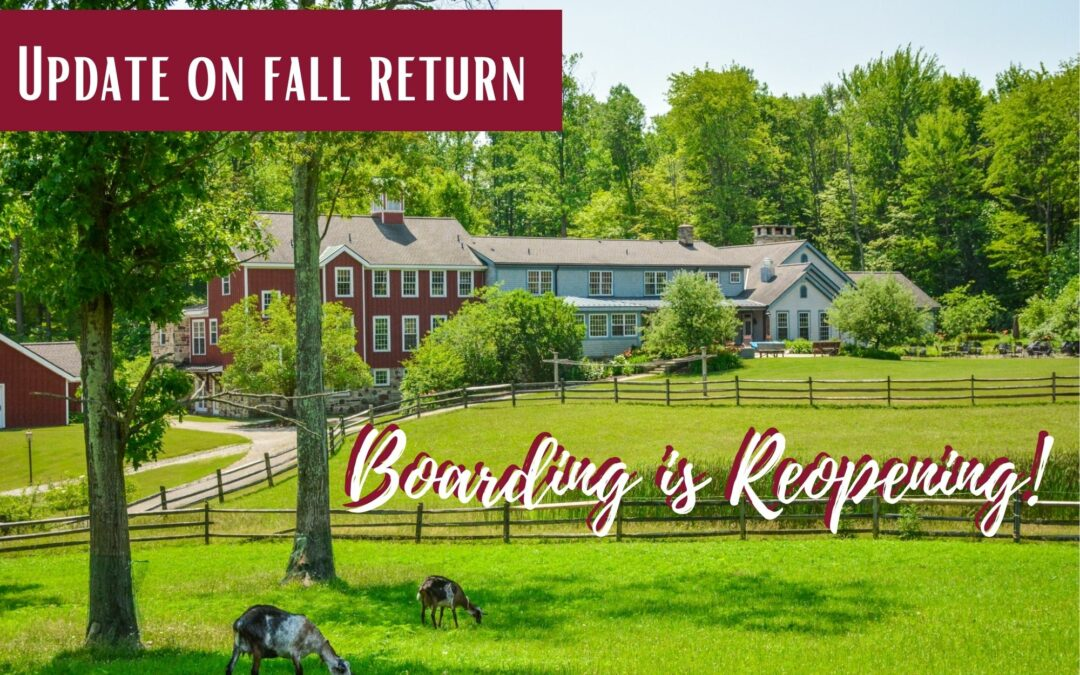 Hershey Adolescent Community Updates Fall Return to Campus